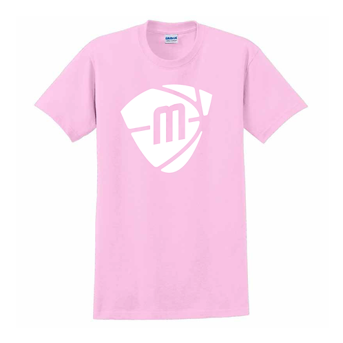 Manchester Magic & Mystics Light Pink Logo T-shirt - White print