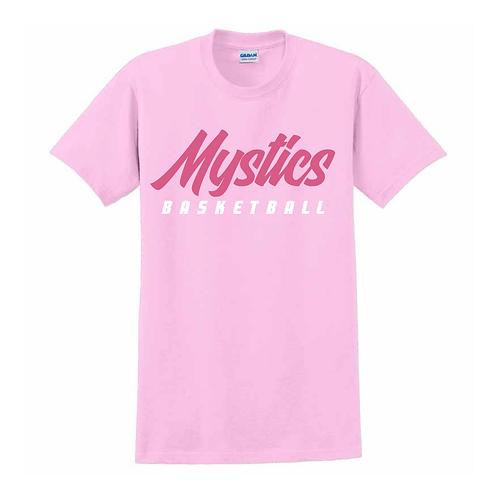 Manchester Mystics Basketball Light Pink T-shirt 2
