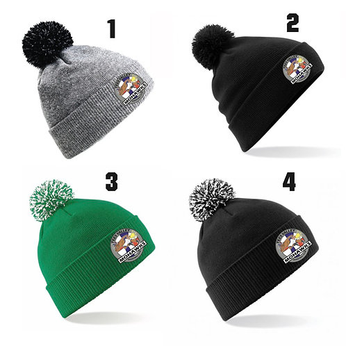 Tees Valley Mohawks Pom Pom Bobble Hat