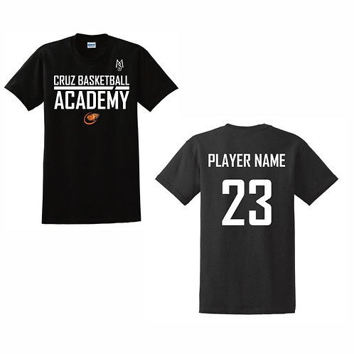 Cruz Basketball Academy T-Shirt Design 12