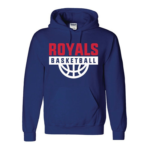 East Herts Royals Blue Hoody design 1