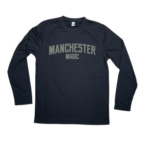 Manchester Magic Long Sleeve Shirt - Grey