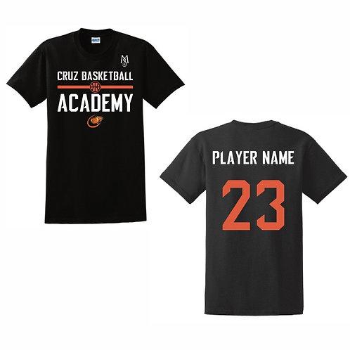 Cruz Basketball Academy T-Shirt Design 8