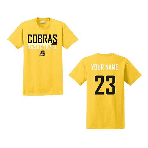 Caerphilly Cobras Daisy Yellow T-shirt