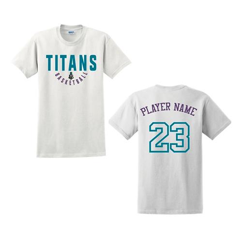 Ely Titans White T-shirt
