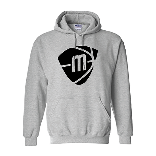 Manchester Magic & Mystics Black Logo Sport Grey Hoody