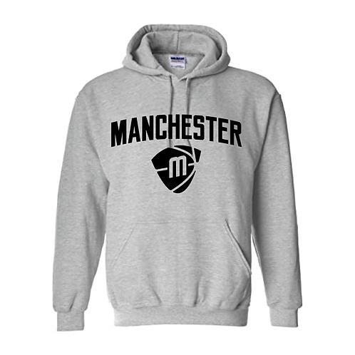 Manchester Magic & Mystics Text and Logo Sport Grey Hoody - Black
