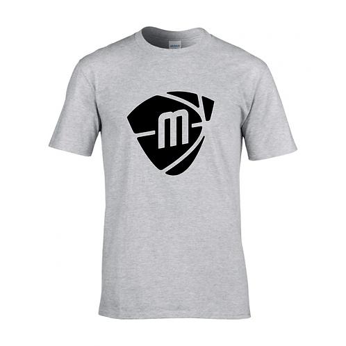 Manchester Magic & Mystics Sport Grey Logo T-shirt - Black print
