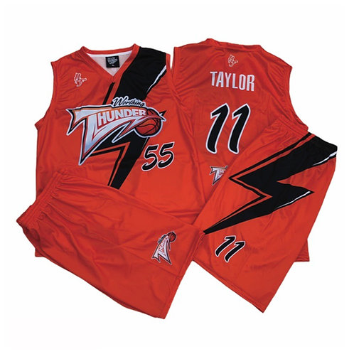 Worthing Thunder  20/21 season Orange Replica Kit