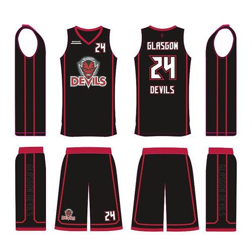 Glasgow Devils Black Kit