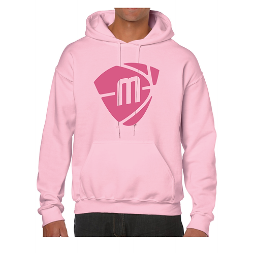 Manchester Magic & Mystics Pink Logo Light Pink Hoody