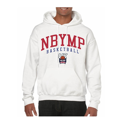 NBYMP UK Hoody design 2 - White