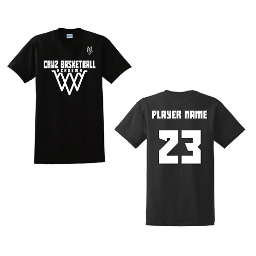 Cruz Basketball Academy T-Shirt Design 13