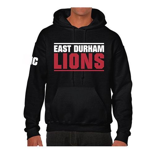 East Durham Lions Hoody design 2