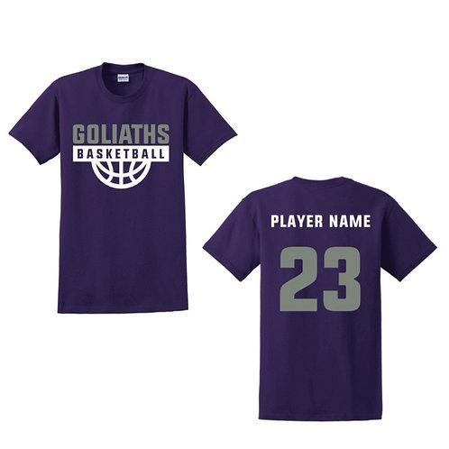 Gosforth Goliaths Purple T-shirt Design 4