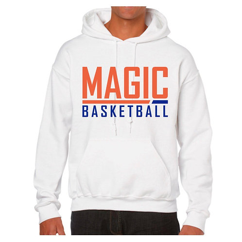 Morpeth Magic White Hoody design 2
