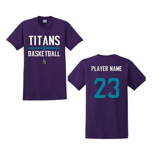 Ely Titans Purple T-shirt