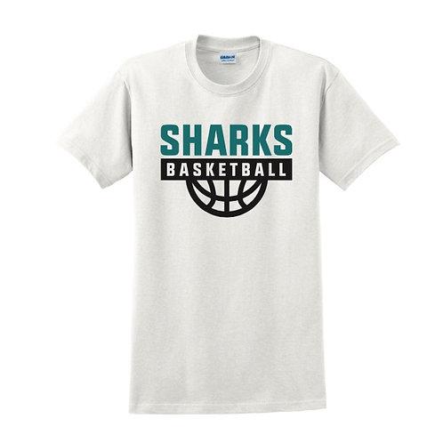 Irvine Sharks White T-shirt