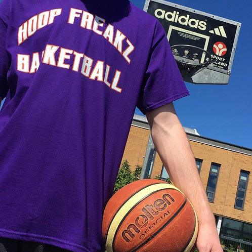 HF Basketball Arc T-shirt - Purple