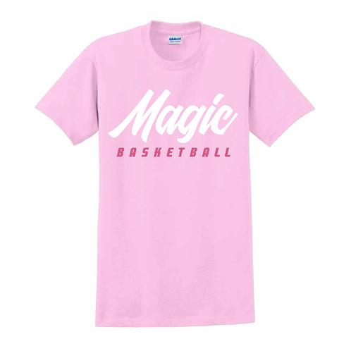Manchester Magic Basketball Light Pink T-shirt 1