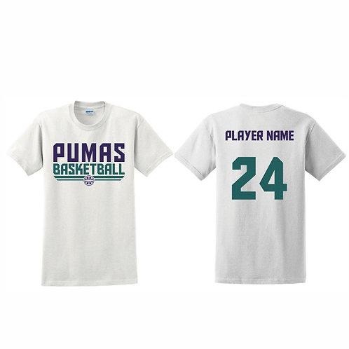 Stockton Pumas - White T-shirt Design 8