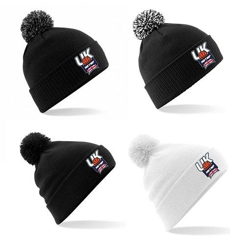 NBYMP UK Pom Pom Bobble Hat