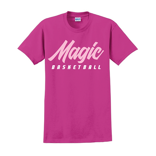 Manchester Magic Basketball Heliconia Pink T-shirt 2
