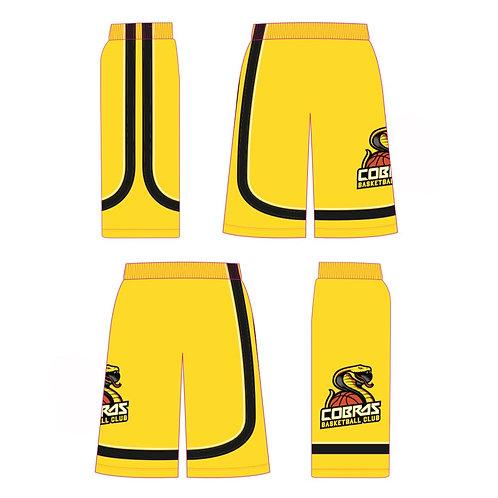 Caerphilly Cobras Yellow Shorts