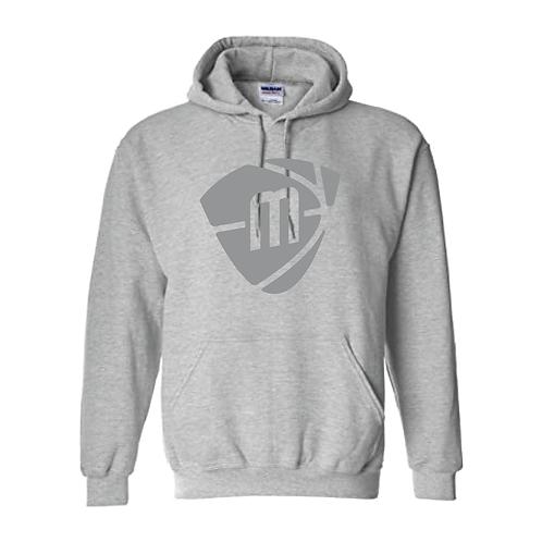 Manchester Magic & Mystics Grey Logo Sport Grey Hoody