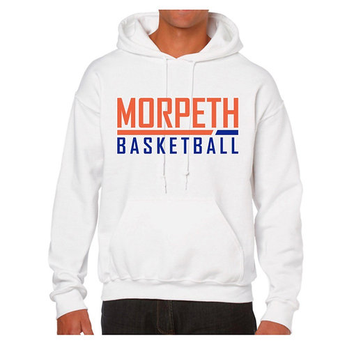 Morpeth White Hoody design 2