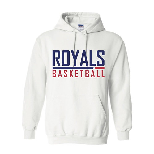 East Herts Royals White Hoody design 2