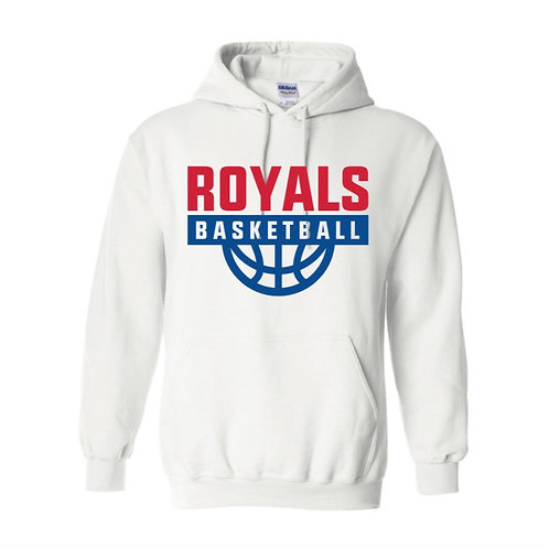East Herts Royals White Hoody design 1