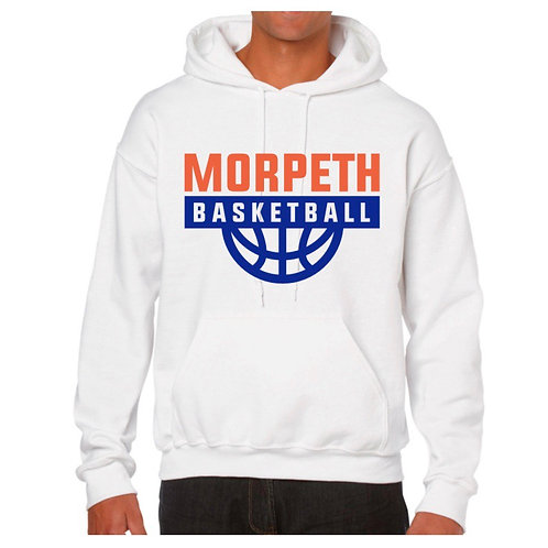 Morpeth White Hoody design 3