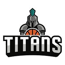 Hoop Freakz Ely Titans Logo basketball c