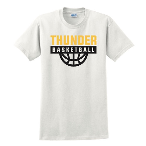 Three Towns Thunder White T-shirt