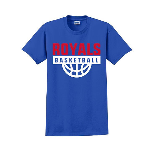 East Herts Royals - Blue T-shirt Design 1