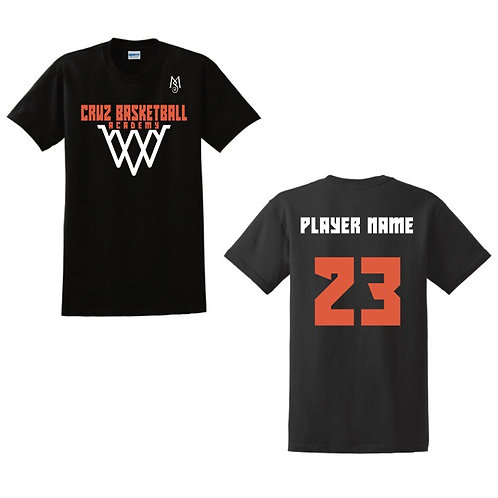 copy of Cruz Basketball Academy T-Shirt Design 6