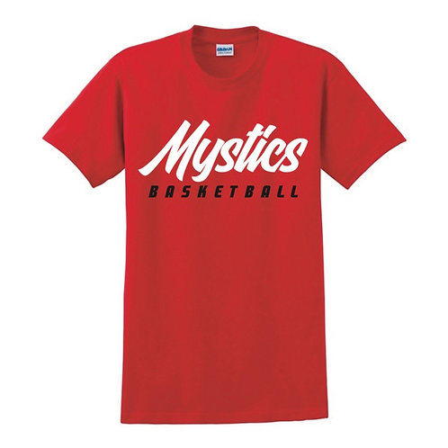 Manchester Mystics Basketball Red T-shirt