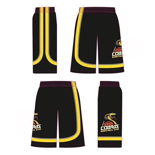 Caerphilly Cobras Black Shorts