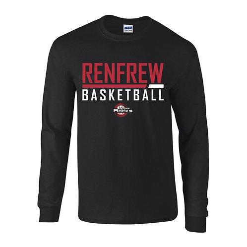 Renfrew Rocks Black Long Sleeve T-shirt
