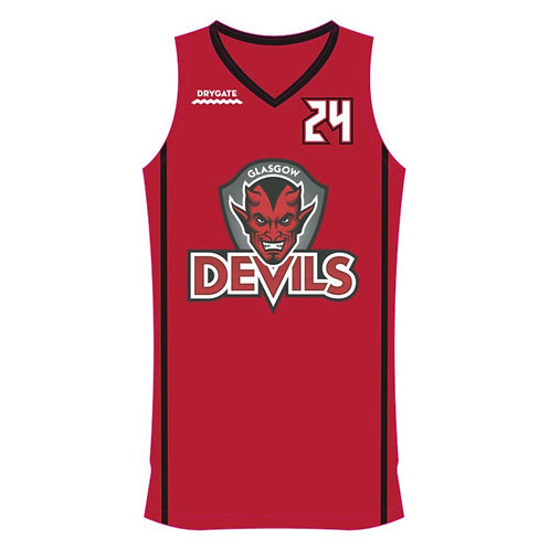 Glasgow Devils Red Vest