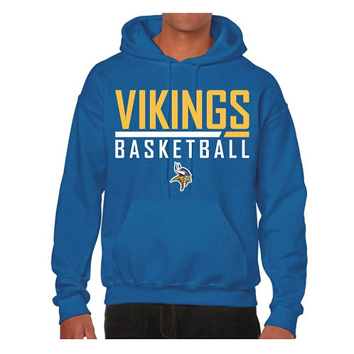 Richmond Vikings Blue Hoody design 2