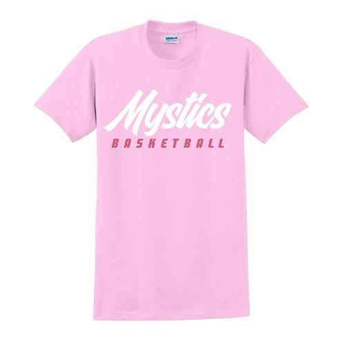 Manchester Mystics Basketball Light Pink T-shirt 1