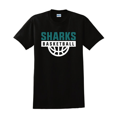 Irvine Sharks Black T-shirt
