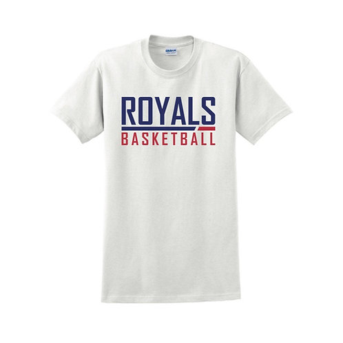 East Herts Royals - White T-shirt Design 2