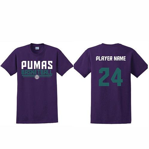 Stockton Pumas - Purple T-shirt Design 8
