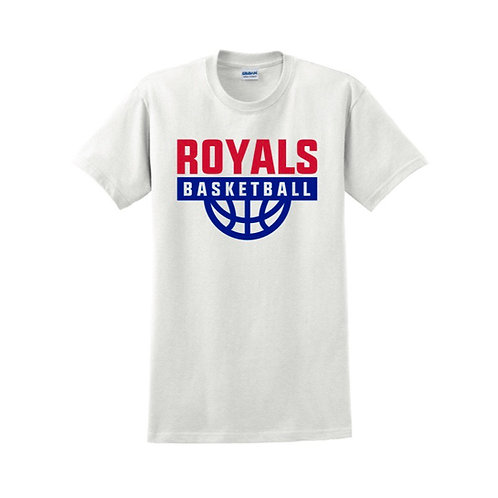 East Herts Royals - White T-shirt Design 1