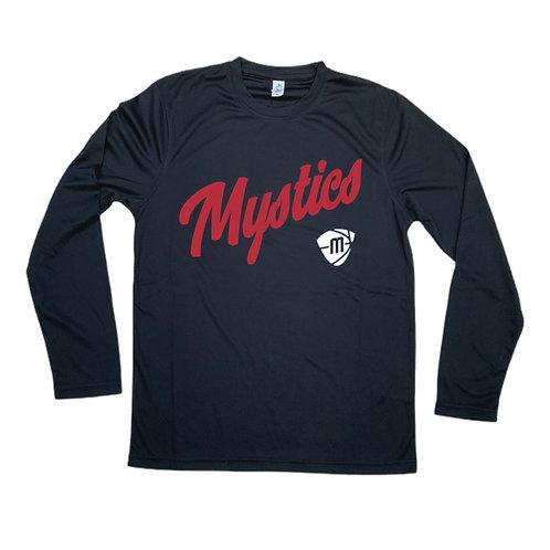 Manchester Mystics Script & Logo Long Sleeve Shirt
