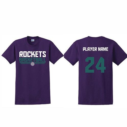 Stockton Rockets - Purple T-shirt Design 8