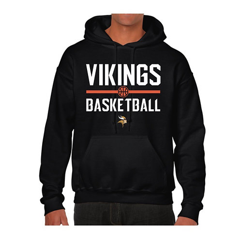 Richmond Vikings Black Hoody design 1